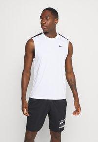 Reebok - TECH TEE - Sports shirt - white - 0