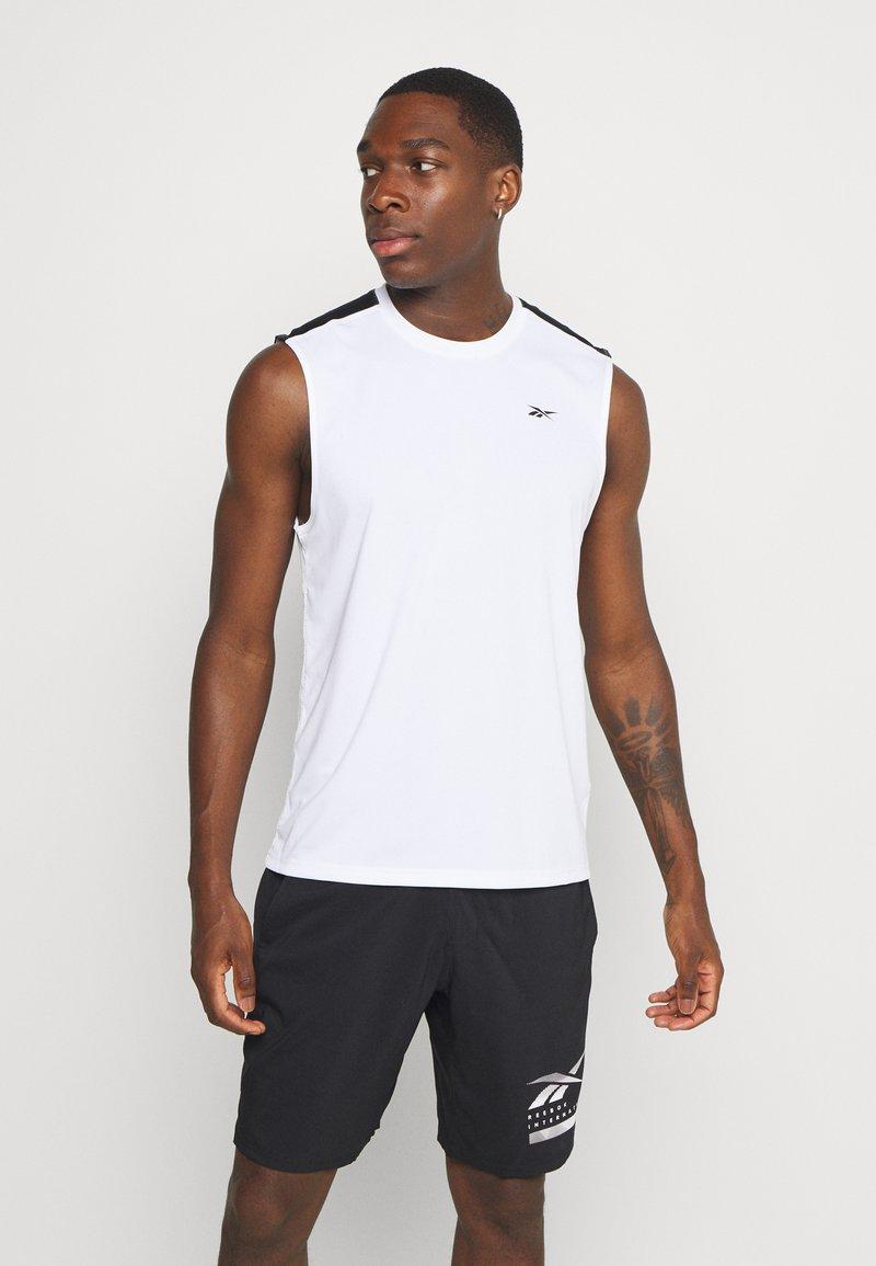 Reebok - TECH TEE - Sports shirt - white