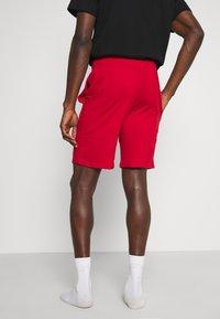 Pier One - 3 PACK - Pyjamasbyxor - black/mottled dark grey/red - 2