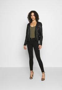 ONLY - ONLMIRINDA BASIC PANT - Jeans Skinny Fit - black - 1
