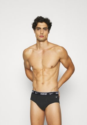 BRIEF 3PK COTTON STRETCH - Briefs - black