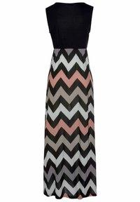 LASCANA - Maxi dress - schwarz-rose-creme-taupe - 1