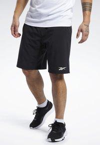 Reebok - SPEEDWICK SPEED SHORTS - Pantalón corto de deporte - black - 0