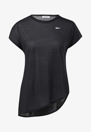 WORKOUT READY ACTIVCHILL TEE - Basic T-shirt - black