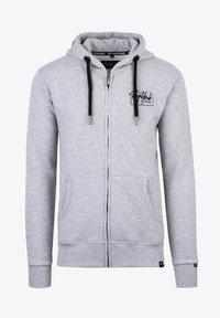 Spitzbub - VALENTIN - Zip-up sweatshirt - grau - 0