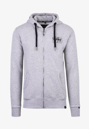 VALENTIN - Zip-up hoodie - grau