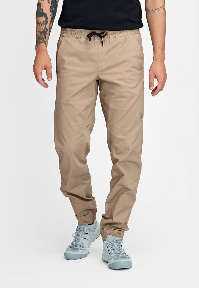 CAMIE  - Trousers - safari