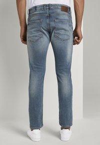 TOM TAILOR - Slim fit jeans - mid stone bright blue denim - 2