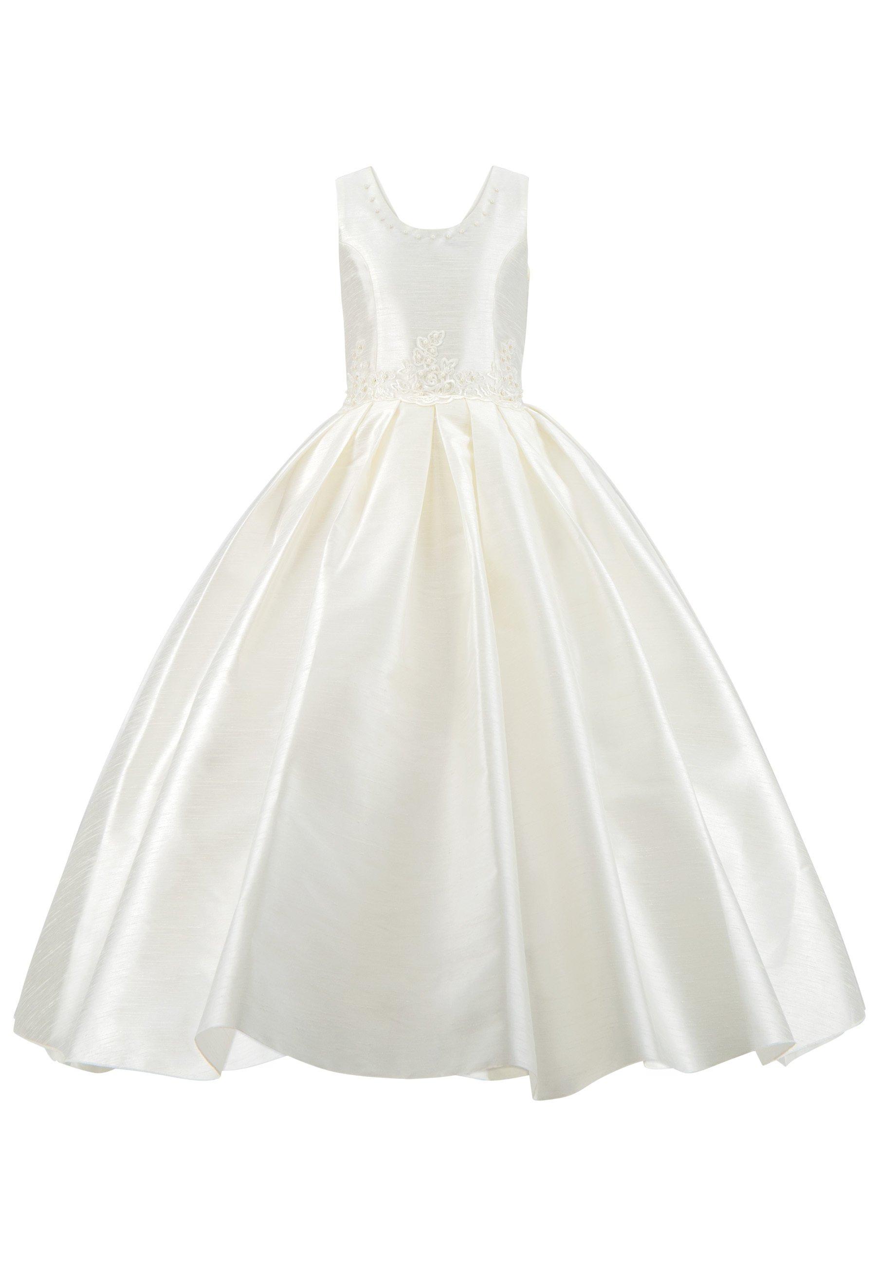 Kinder MIT PERLEN PRINZESSINNEN KINDERKLEID M - Cocktailkleid/festliches Kleid