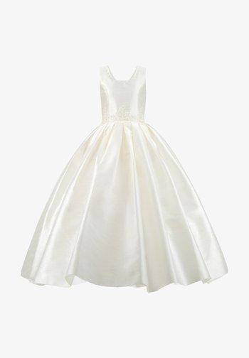 MIT PERLEN PRINZESSINNEN KINDERKLEID M - Cocktail dress / Party dress - weiß