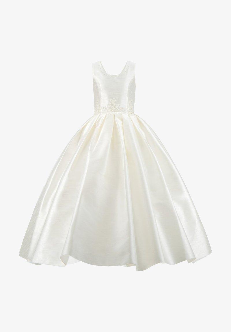 Prestije - MIT PERLEN PRINZESSINNEN KINDERKLEID M - Cocktail dress / Party dress - weiß