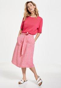 Gerry Weber - A-line skirt - rasberry melange - 1