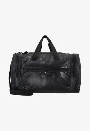 SQUARE DUFFEL M - Treningsbag - black/black/white