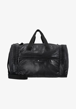 SQUARE DUFFEL M - Sportovní taška - black/black/white