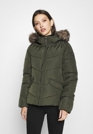 ONLROONA QUILTED JACKET - Winter jacket - rosin