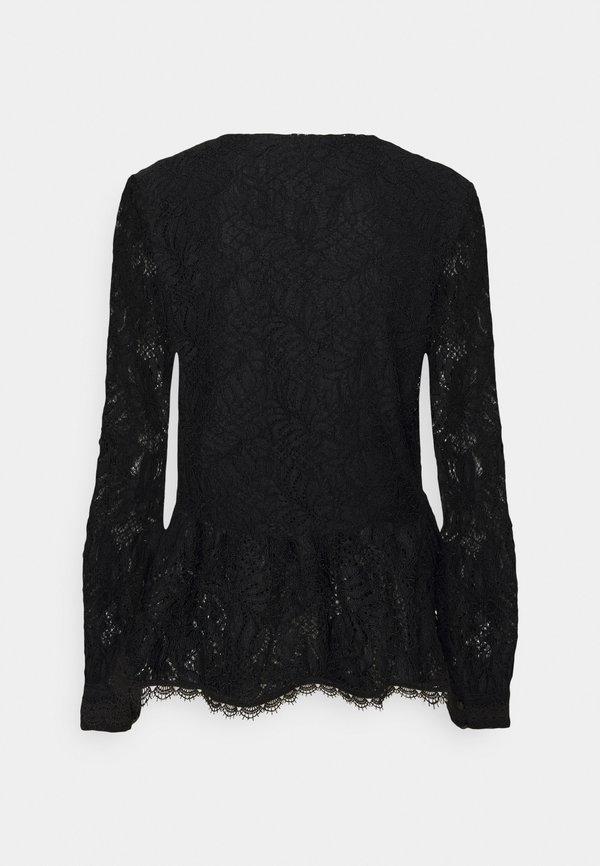 Rosemunde BLOUSE - Bluzka - black/czarny CLGA