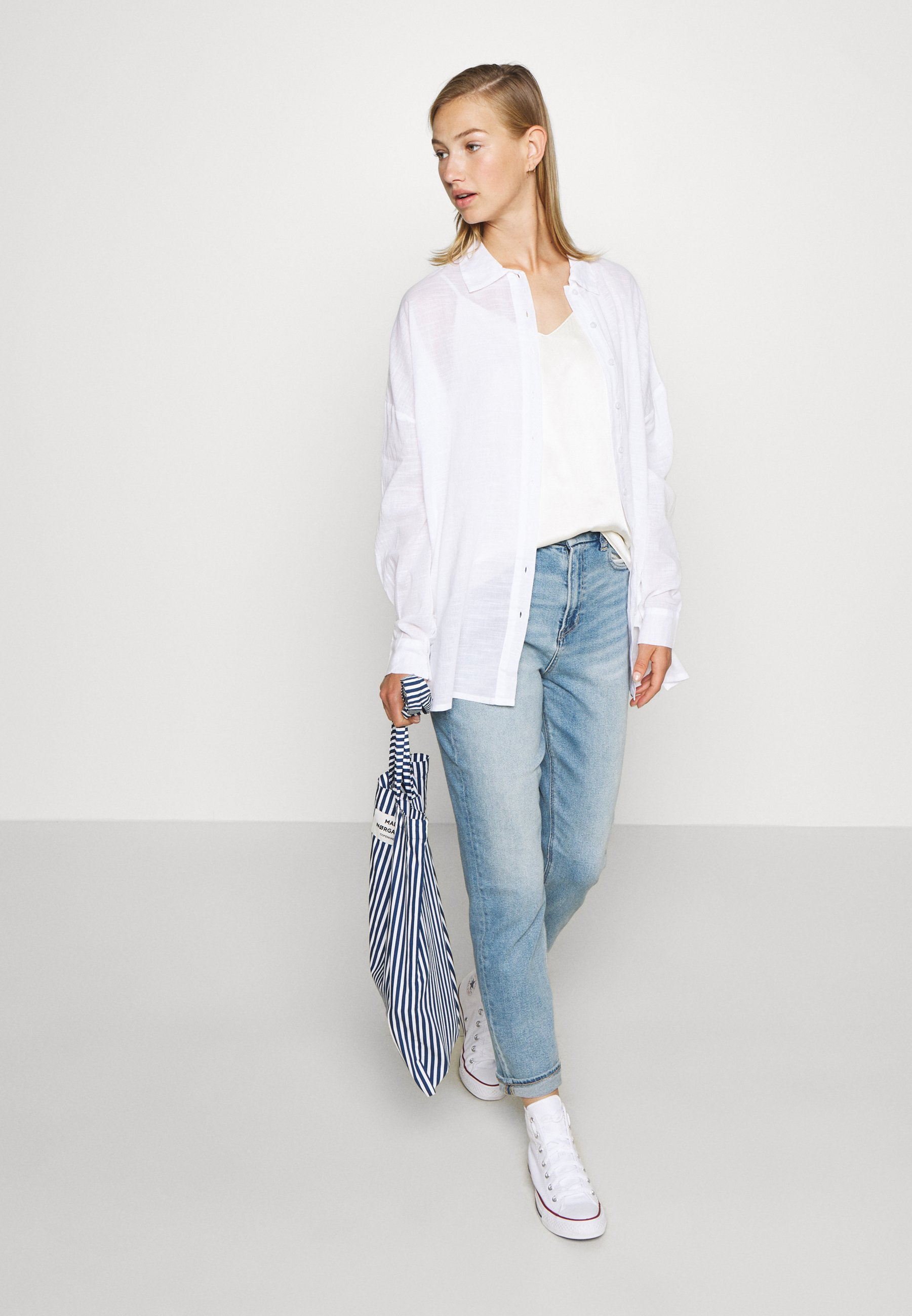 Nly By Nelly Summer - Overhemdblouse White