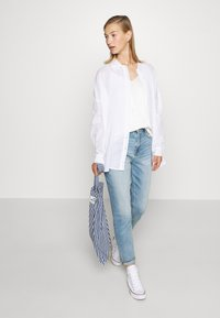 Nly by Nelly - SUMMER - Button-down blouse - white - 1