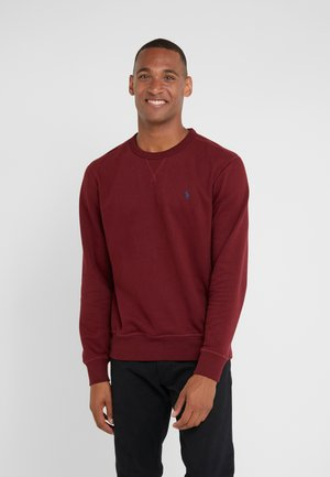LONG SLEEVE - Sudadera - classic wine