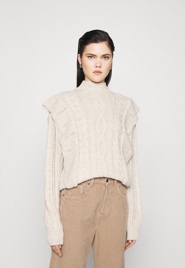 ALICE - Sweter - weiß
