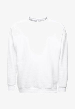 CREW NECK - Sweater - white
