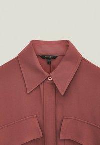 Massimo Dutti - Shirt dress - bordeaux - 2