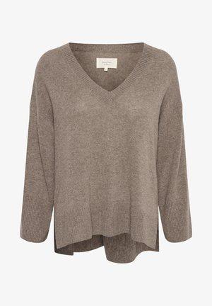HELLINPW - Pullover - natural melange