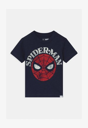 TODDLER BOY MARVEL - T-shirt med print - tapestry navy