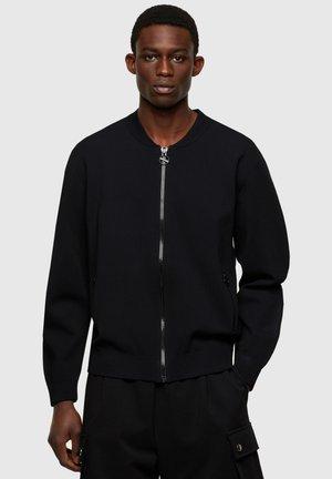OREGON - Zip-up sweatshirt - black