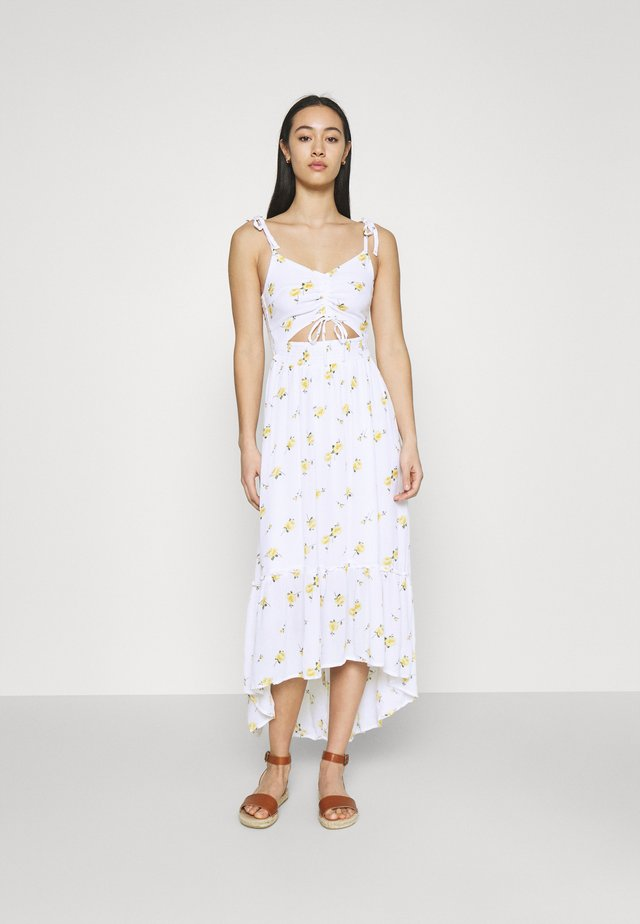 CHAIN DRESS - Sukienka letnia - white