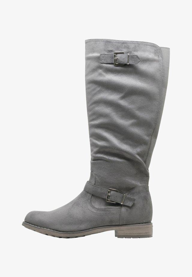 VANESSA - Boots - grey