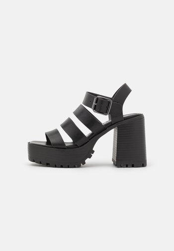 DITA - Platform sandals - black