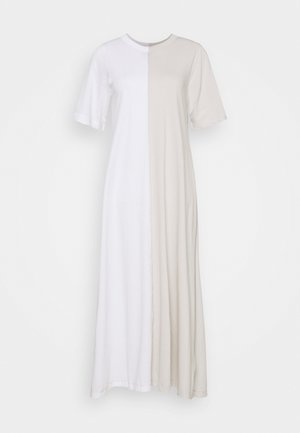 DRESS - Vestido largo - white