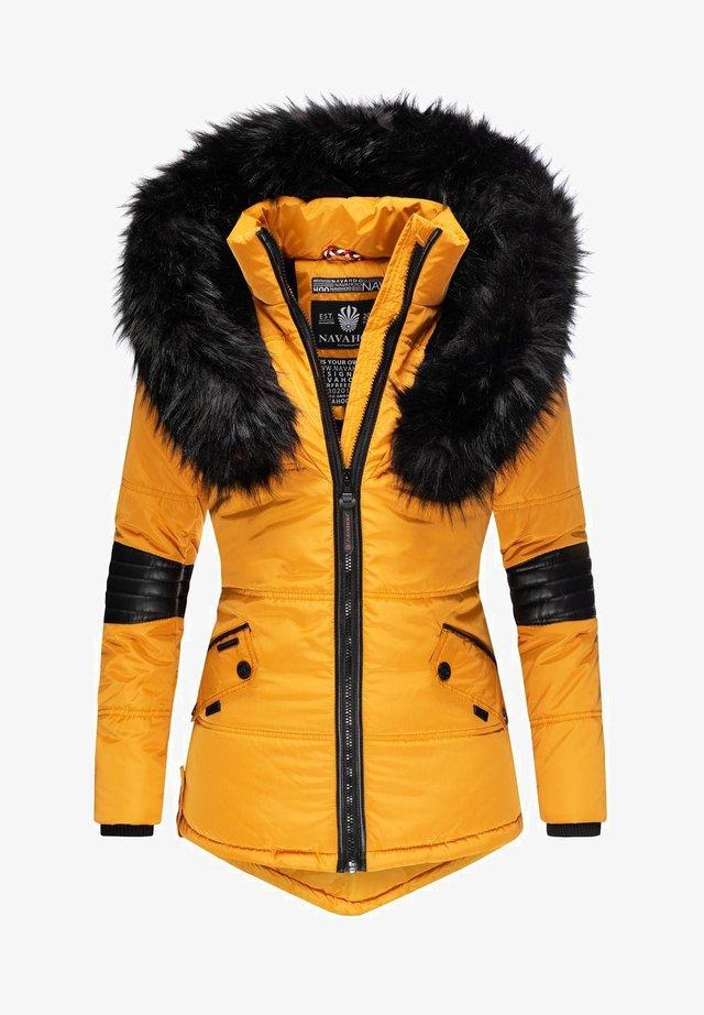 NIRVANA - Winter jacket - dark yellow