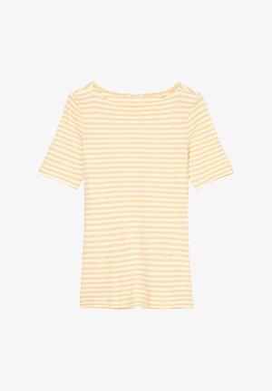 Print T-shirt - iced vanilla