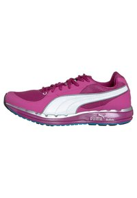 Puma - FAAS 500 W - Chaussures de running compétition - neon/silver/fluo blue - 4