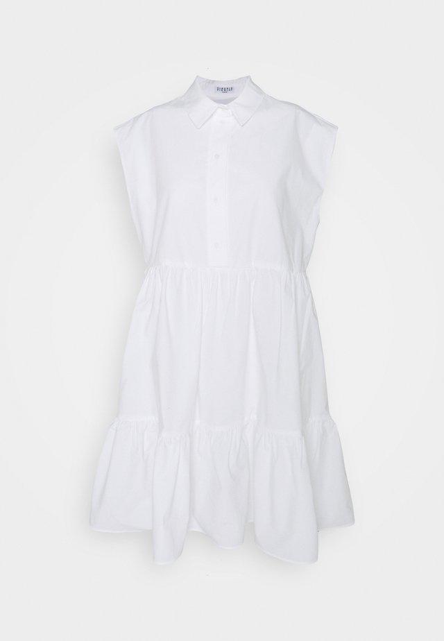 RICATI - Skjortklänning - blanc