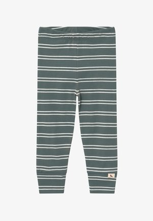 STRIPE - Leggings - Trousers - steel