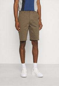 Solid - BARRO BASIC - Shorts - sand melange - 0