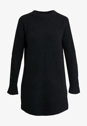 DRESS - Strikket kjole - solid black