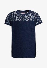 WE Fashion - T-shirt print - dark blue - 3