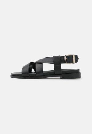 WENDA - Sandály - noir