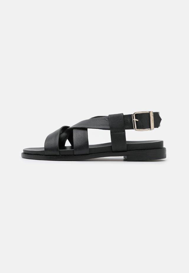 WENDA - Sandales - noir