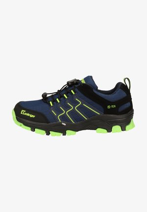 Hiking shoes - navy/lime