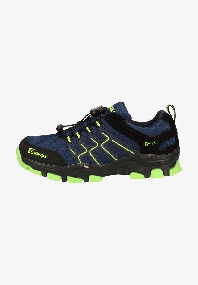 Chaussures de marche - navy/lime