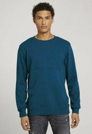 STRUCTURE - Sweatshirt - stormy petrol