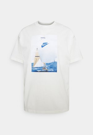 TEE - Camiseta estampada - sail