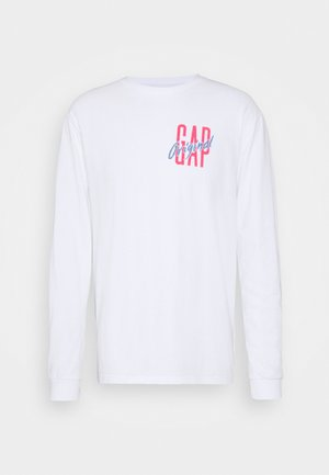 Long sleeved top - optic white