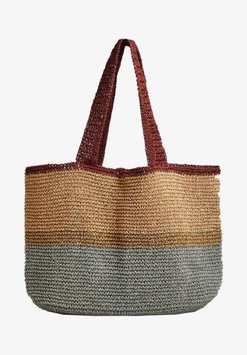 Shopping bag - multi-coloured