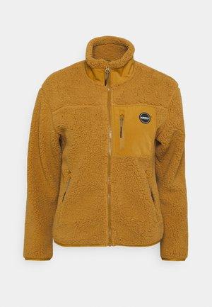 ARVADA - Fleece jacket - fudge